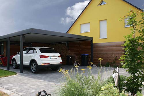 mit gerteraum latest cool leimholz carport mit gerteraum auto carport with carport selbst. Black Bedroom Furniture Sets. Home Design Ideas