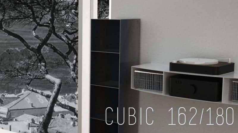 Design Vinyl-Platten-Regal-Sideboard Brennholzaufbewahrung Metallmoebel aus Stahl Holz Stahlzart