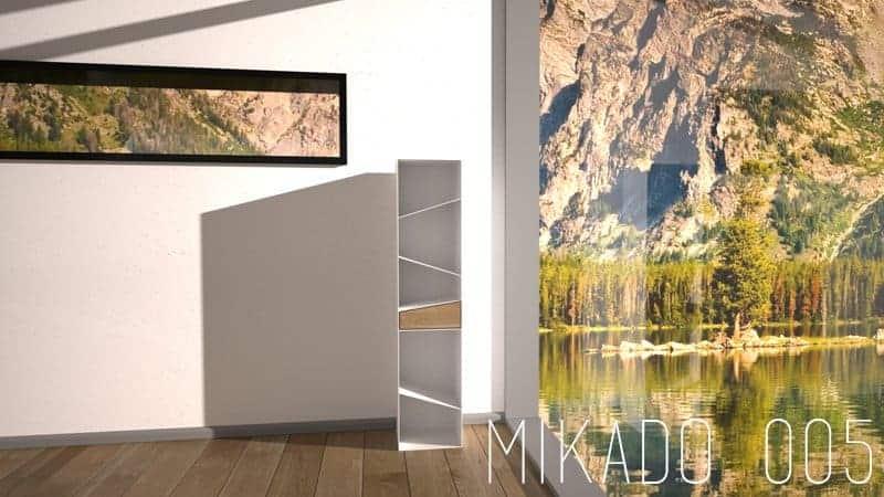 Design brennholzregal  Mikado Serie | Metallcarport Stahlcarport kaufen - Preise & Info