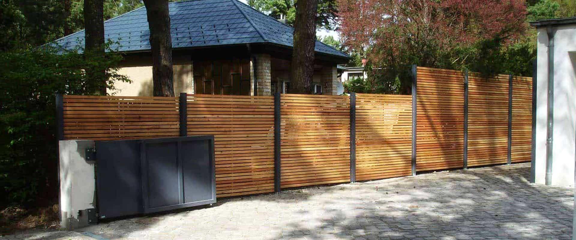 Sichtschutz Zaun Garten Terrasse Balkon Holz Metall Kaufen Stahlzart