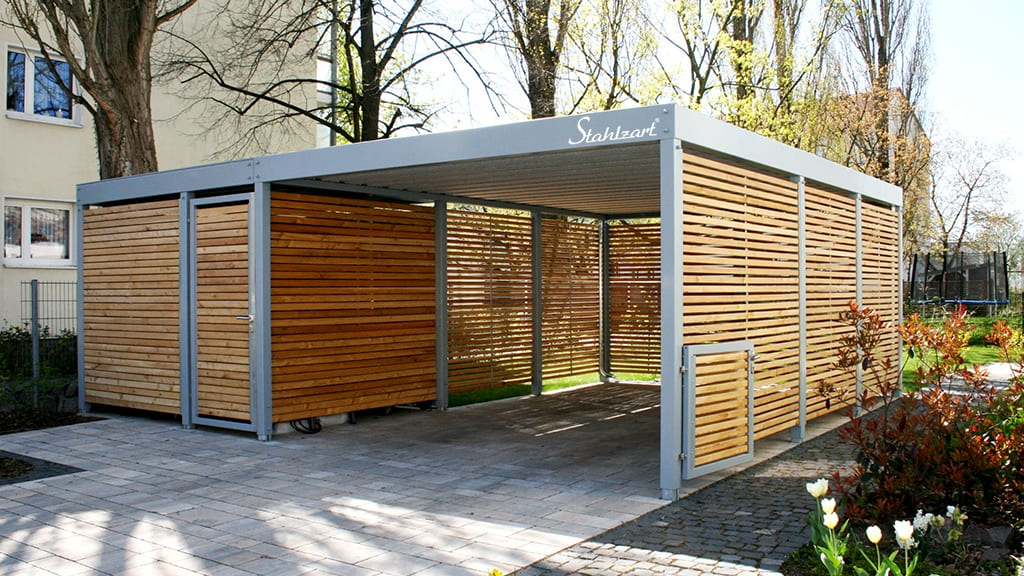 stahlzart-carport-metall-holz-stahl-doppelcarport-metallcarport-stahlcarport-modern-grau-flachdach-mit-abstellraum-geraeteraum-design-made-in-germany-tablet