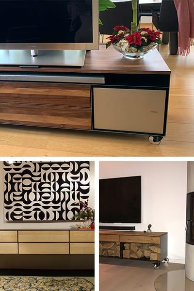 stahlzart-lowboard-tv-schwarz-grau-holz-eiche-metall-modern-design-designer-massivholz-wildeiche-weiss-stahl-mit-schubladen-auf-rollen-nussbaum-mobil