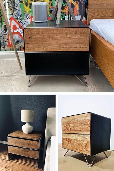 stahlzart-nachttisch-weiss-holz-eiche-schwarz-grau-metall-modern-design-massivholz-wildeiche-nussbaum-stahl-mit-schubladen-mit-rollen-haengend-fuer-boxspringbett-designermoebel-mobil