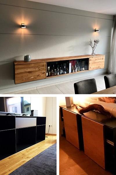 stahlzart-sideboard-kommode-barschrank-schwarz-grau-holz-eiche-metall-modern-design-designer-moebel-massivholz-wildeiche-nussbaum-mit-schubladen-haengend-glas-mobil